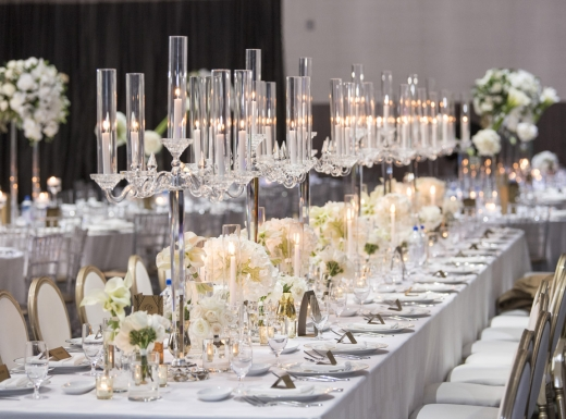Table decor for a luxury wedding (2)