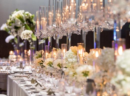 table wedding flowers arrangement (4)