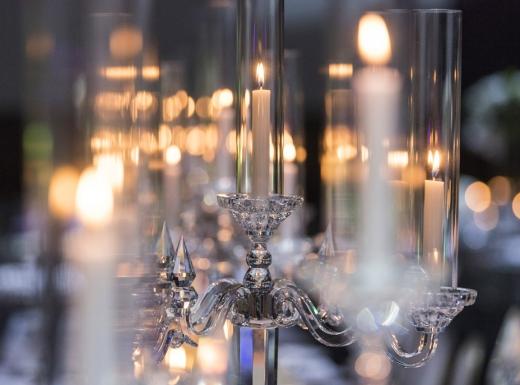 teble wedding decor - candles (1)