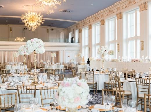 Fancy wedding decor at Omni King (20)