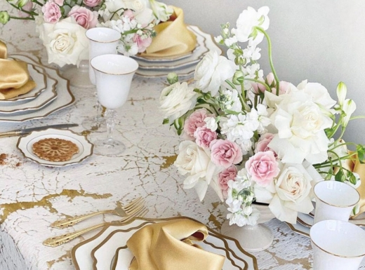 Home Party Decor with flowers Concept 1 (3)