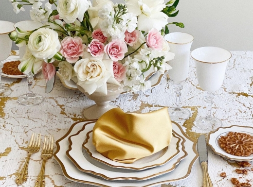 Home Party Decor with flowers Concept 1 (4)