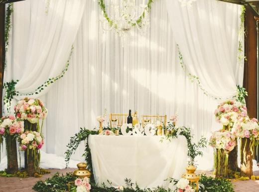 organig wedding flower decor-1