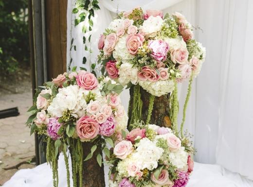 organig wedding flower decor-10