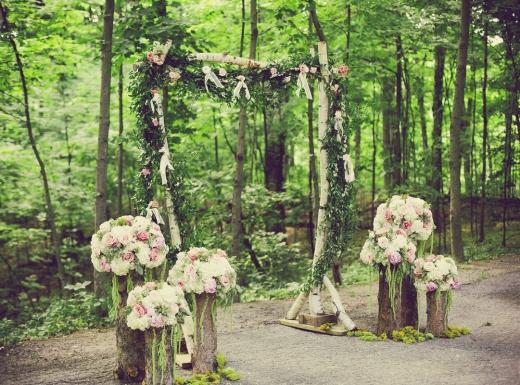 organig wedding flower decor-4