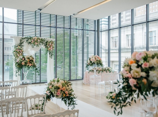 Flower-decoration-Spectacular-Wedding-Gardiner-Museum-17