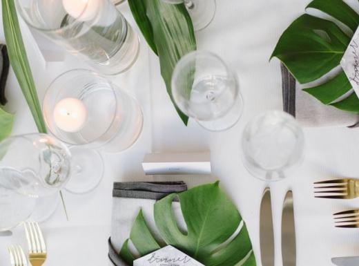green floral decor for wedding (2)