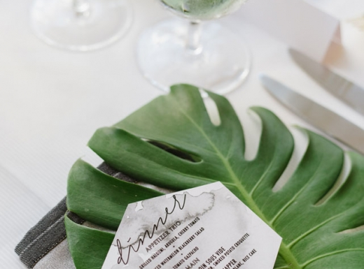 green floral decor for wedding (3)