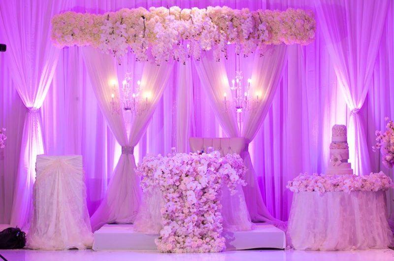 Luxurious Crystals – Wedding Decor