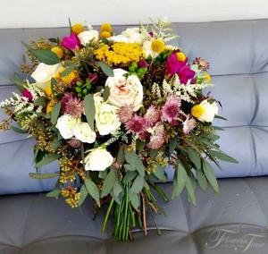 Native florals bridal bouquet Flowers Time Toronto