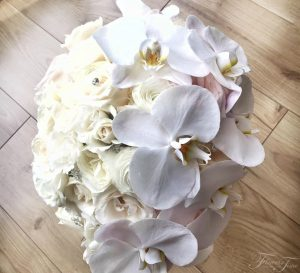 Orchids bridal bouquet Flowers Time Toronto