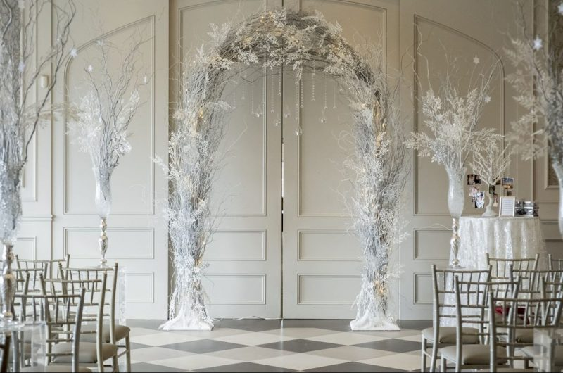 winter flower decor