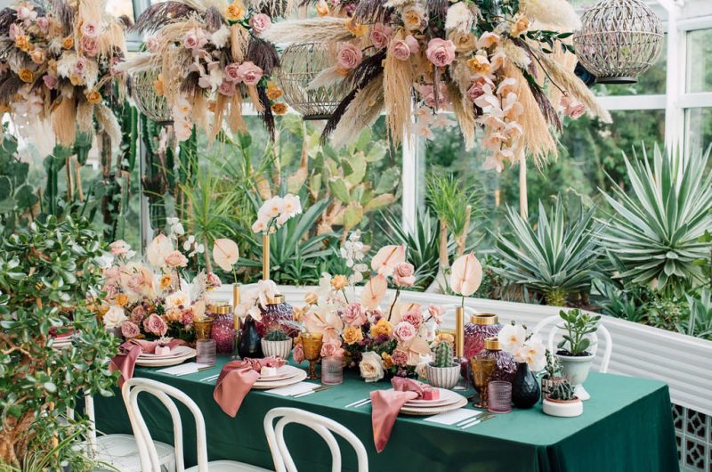 Eclectic Romance – As Seen on wedluxe