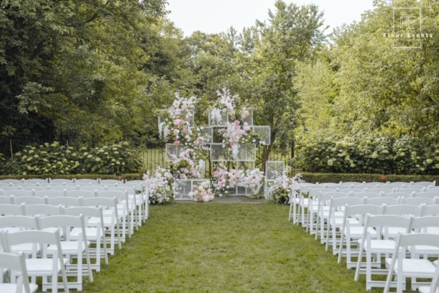 Flower Cages Wedding