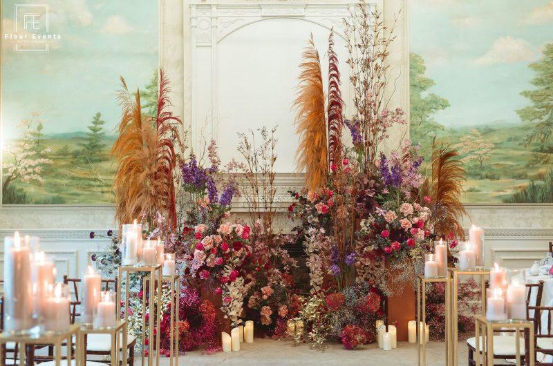 Organic & Dramatic Wedding