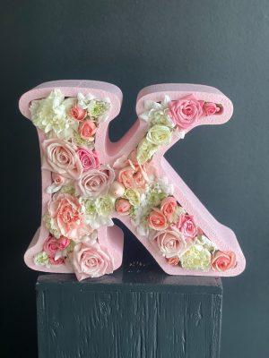 Letter K Flower Box