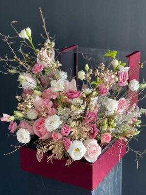 Magic in a Box Flower Bouquet