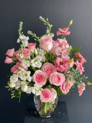 Magical Pink Perfection Flower Bouquet
