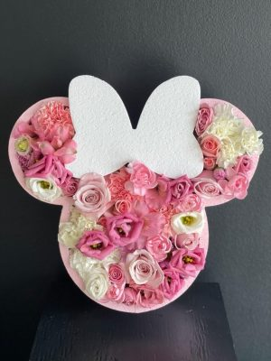 Minnie Mouse Flower Box