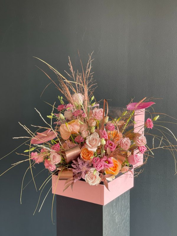 Pink Perfect Flower Box