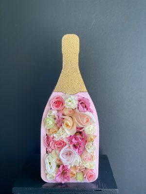 Sparkling Champagne Flower Box