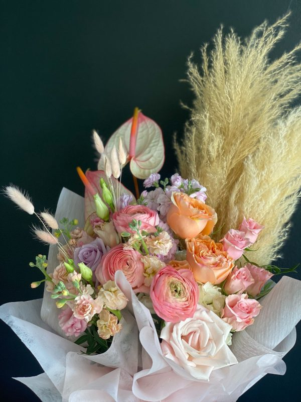 Spring Sunset Flower Bouquet