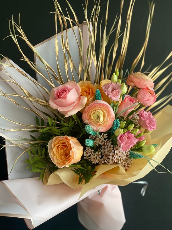 The Golden Sunrise Flower Bouquet